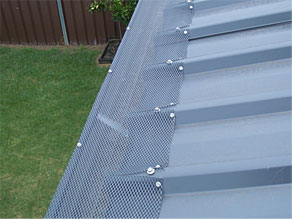 gutter guard protection on clip lock
